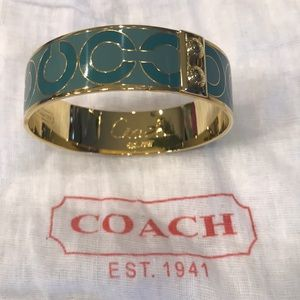 Coach bangle